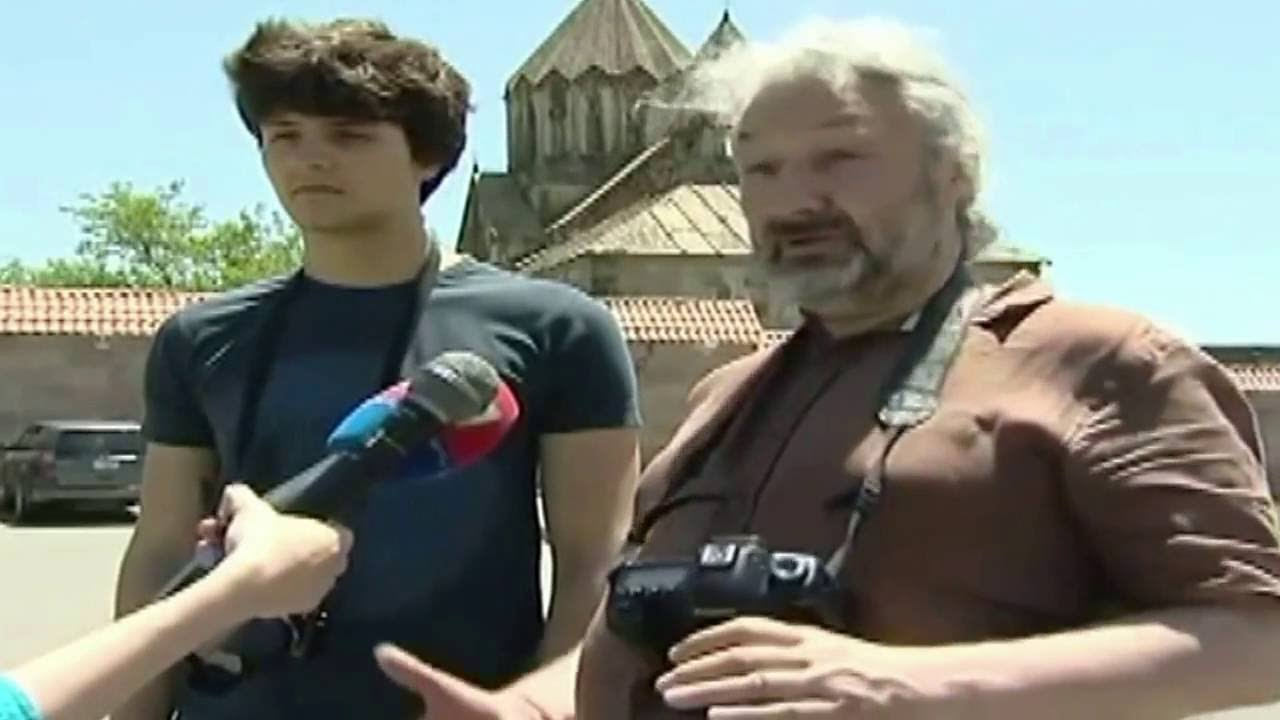 "Стас Намин в Арцахе. ""Древние храмы Армении"". - Наша Армения"